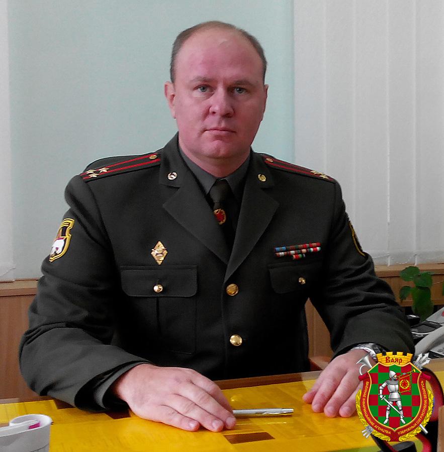 Гвардии полковник Александр Погуляйло