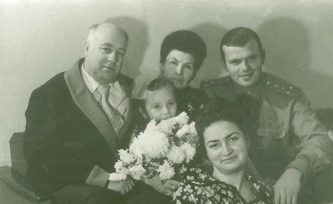 Семья Ширшовых, 1972 год