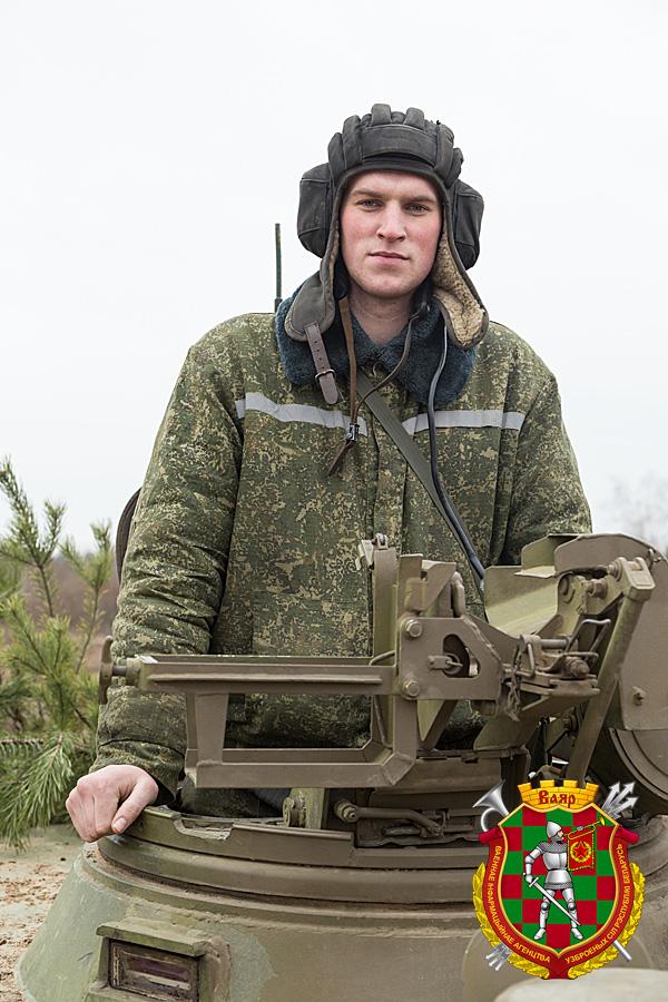 Младший сержант резерва Дмитрий Грибанов