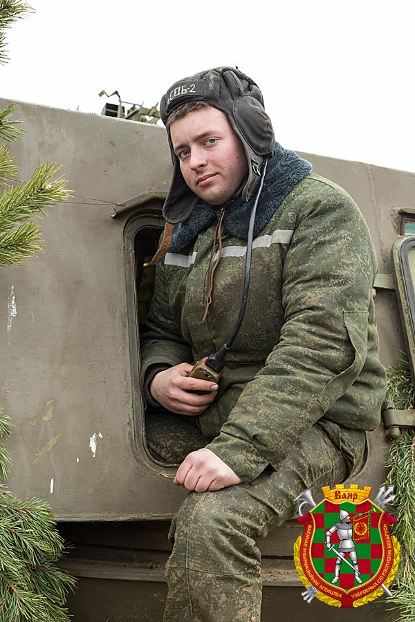 Младший сержант резерва Сергей Пендо