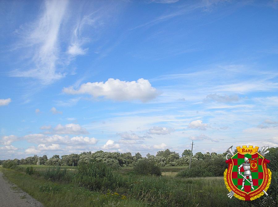 Вид на деревню Зайцево, где родился маршал Якубовский