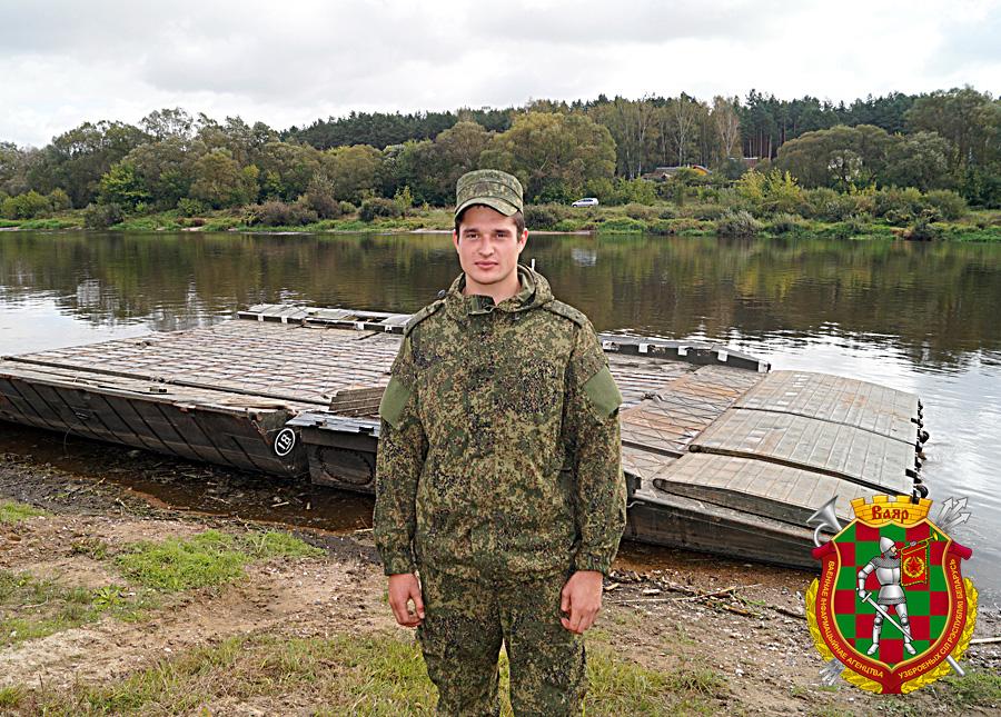 Л-т Евгений Павленя в ходе своего первого полевого выхода в составе родного подразделения в сентябре 2016 г (3)