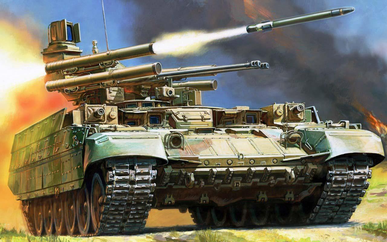 Российская Федерация отправила вСирию «Терминатора-2»