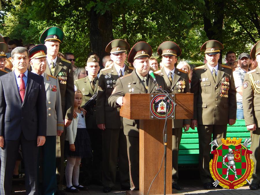 Поздравление от полковника медицинской службы Алексея Еськова