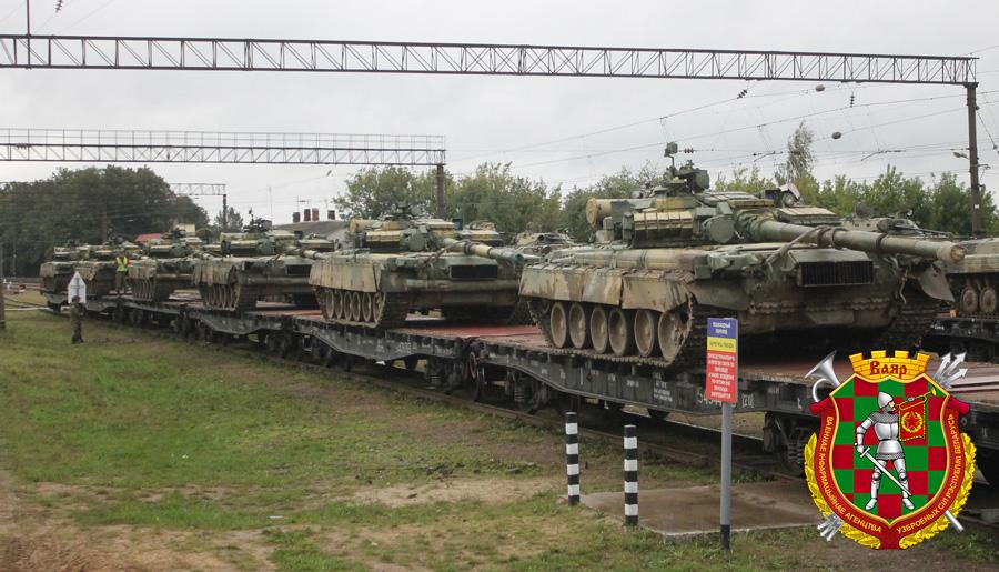 Военные направляются вместа дислокации после учений «Запад-2017»