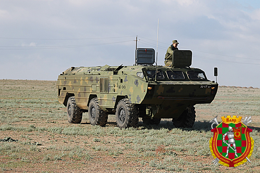 Белорусские военные учавствуют вучении ракетных войск иартиллерии вКазахстане