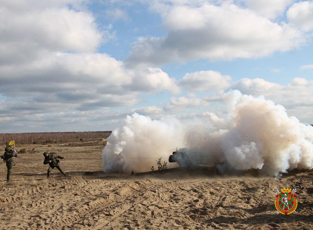На полигоне Брестский проходит полевой выход артиллерийских подразделений сил специальных операций